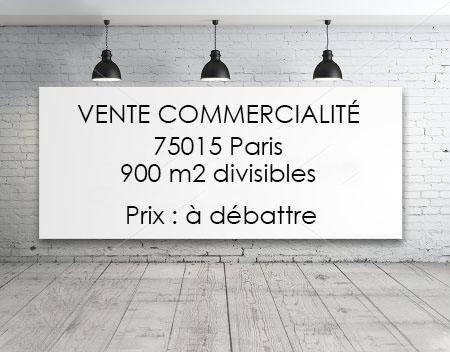 Annonce Commercialité